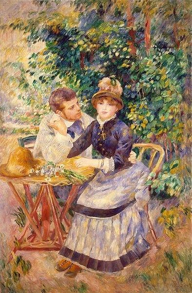 In the Garden Date 1885