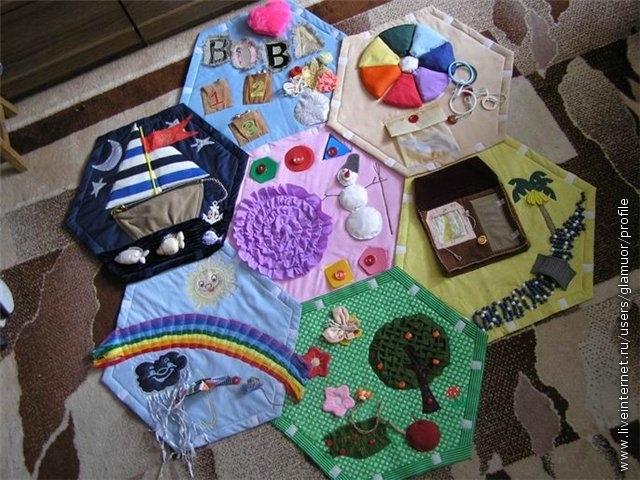 Для детей своими руками развивающие игрушки