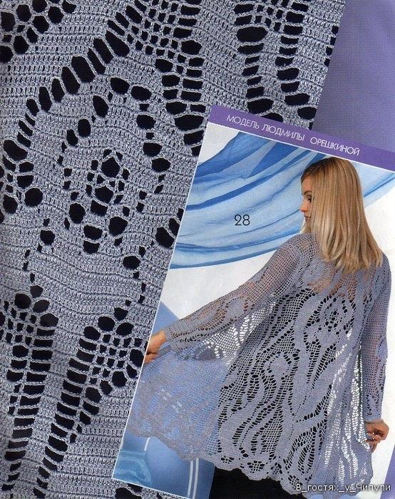 Re: Филейное вязание.  Модели.