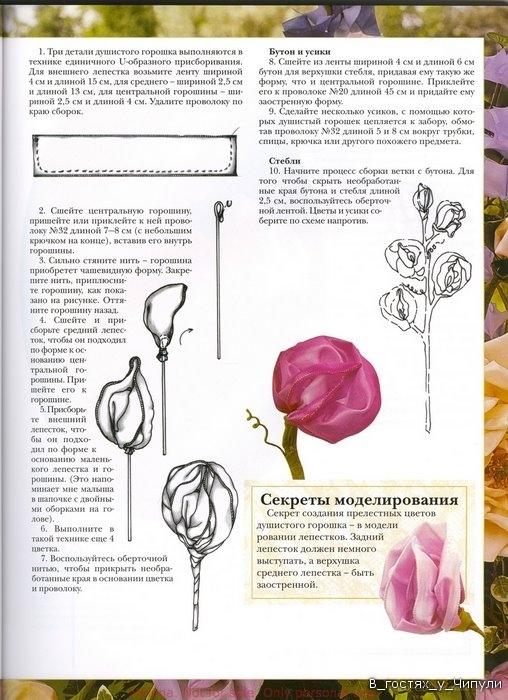 Цветы из лент_28 (507x700, 125Kb) .