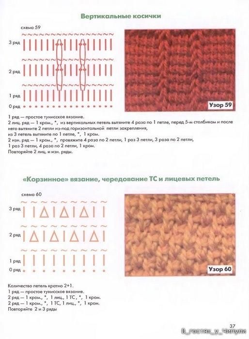 свой цитатник или сообщество!  Уроки тунисского вязания.  Прочитать целикомВ.