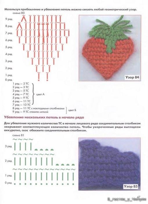 Книга: Тунисское вязание. Техника, узоры, модели. Т.П. Абизяева. 2832400_aa_0046