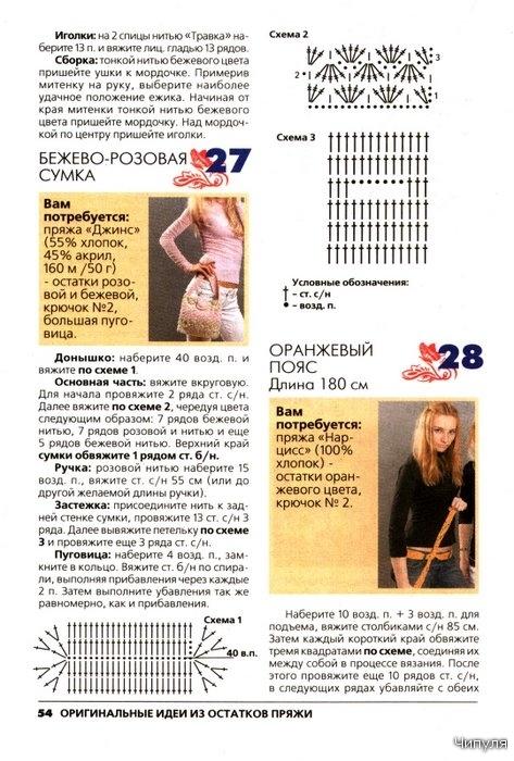 Журнал: Вязание модно и просто (спецвыпуск). Оригинальные идеи из остатков пряжи