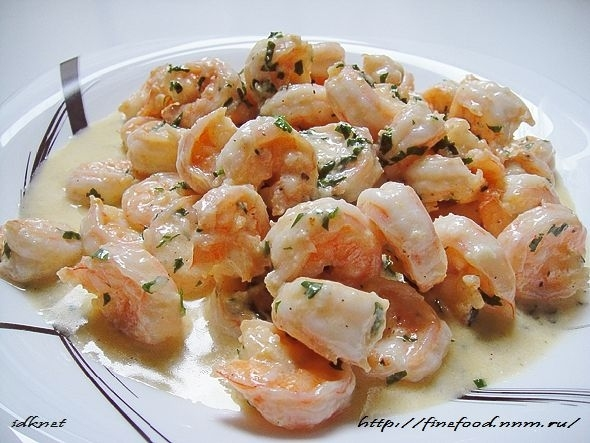 Изысканное, пикантное блюдо, прекрасно сбалансированный вкус. Нежнейшие креветки с умопомрачительным соусом...