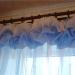 Предлагаю один из несложных вариантов декора штор. .  Это ламбрекен буф на шторной ленте,который...