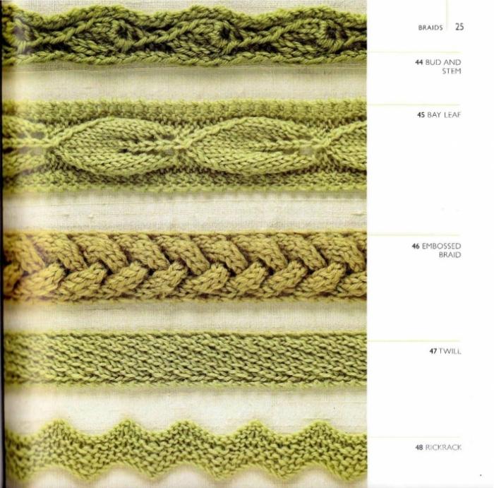 Цветное вязание интарсия