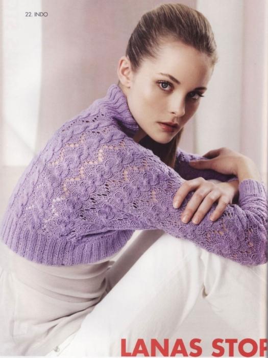 ...бесплатно , Самый простой узор для вязания на спицах и Вязание платка.