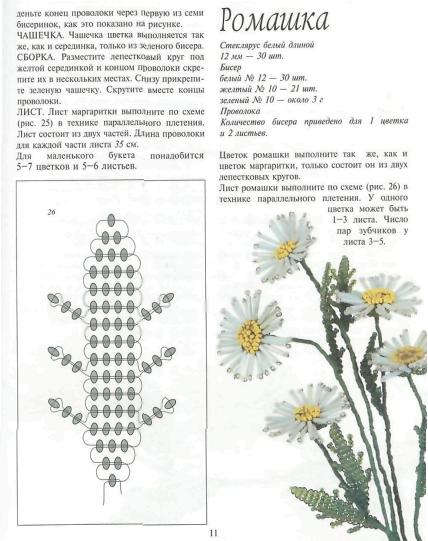 цветы из бисера федотова - Это бисер!