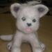 Котёнок-ребёнок, валяние из шерсти