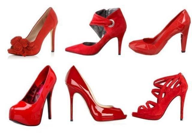 Куплю Недорого Красные Туфли На Шпильке