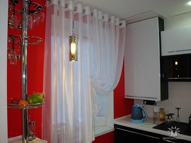 сшить шторы для кухни своими руками