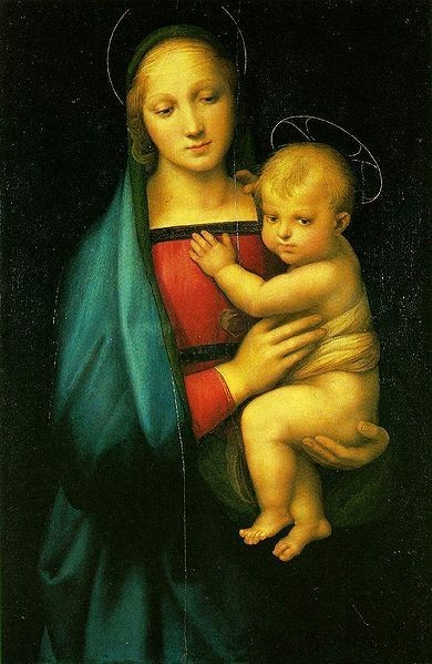 Raphael, Die kleine Madonna