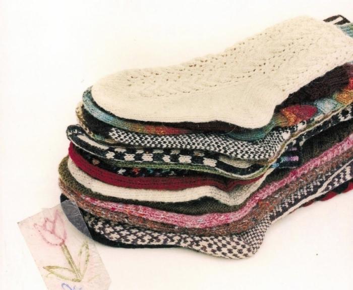 knitting socks diagram