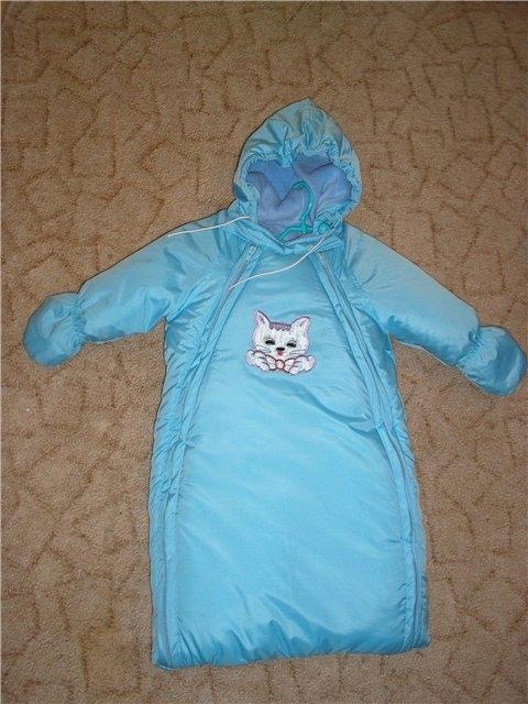 Спальный мешок для малыша с