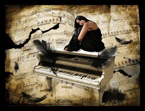 Музыкальные открытки под музыку шопена