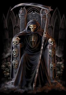 Как выглядит смерть с косой памятник в сочи миронову