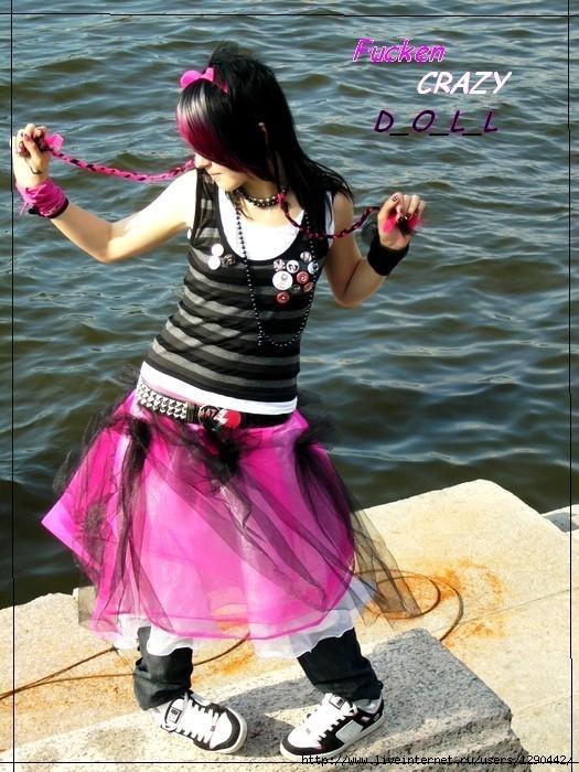 Эмо скас любил розовый цвет бисексуальный