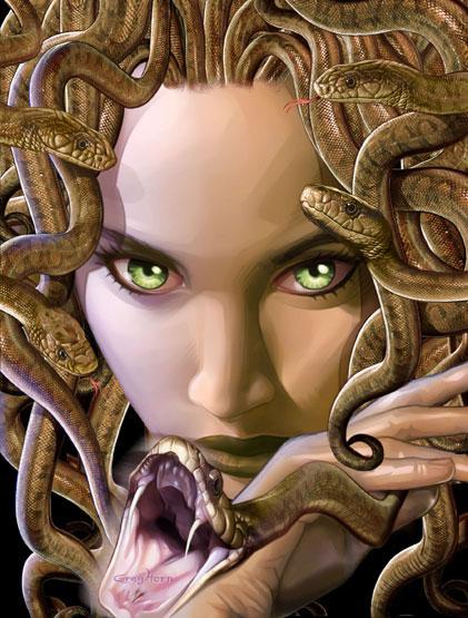 Козерог: Рогатая Змея.  Эту Змею сложно в чём-то заподозрить, внешне она...