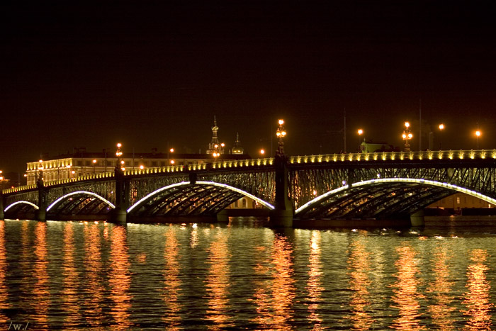фото питерские мосты