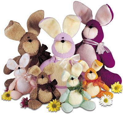 Как сшить мягкую игрушку Кролик, выкройки мягких игрушек кролик заяц.