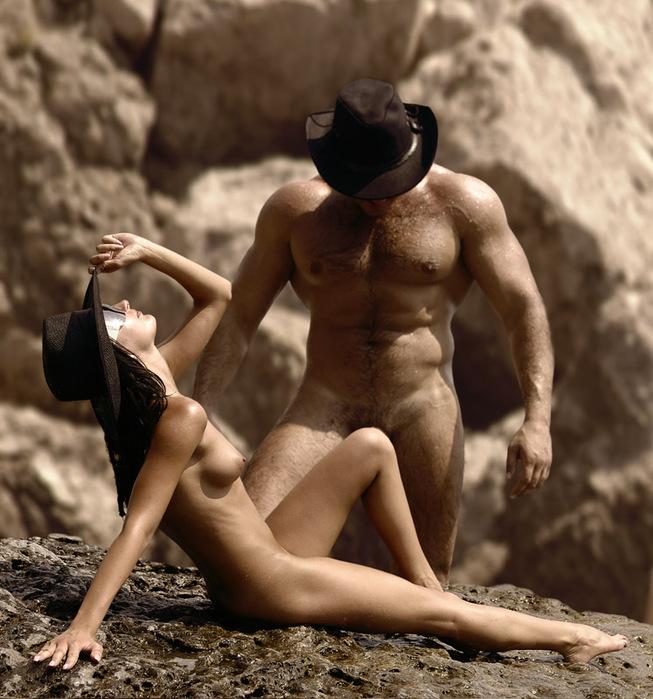 Фото голых мужчин с женщинами #2