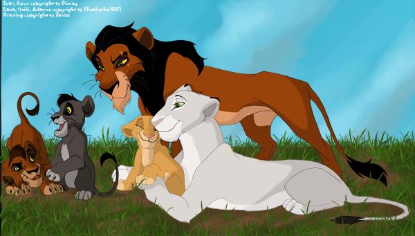 Секс из мультика король лев
