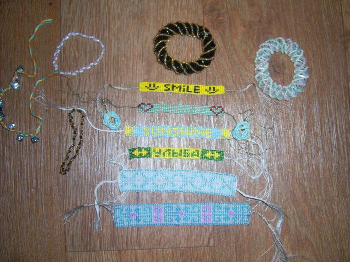схемы фенечек из бисера с именами.