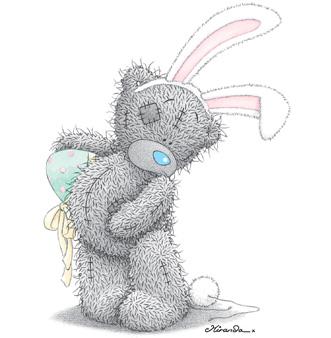 История рождения мишки Тедди.  Картинки: Тедди и Пасха.
