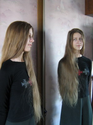 русые волосы длинные фото