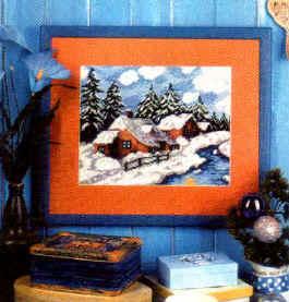 Вышивка крестом Пейзажи Вышивка в разделах: вышивки картин схемы.