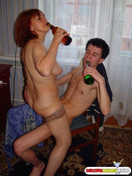 Эротика с пьяницей