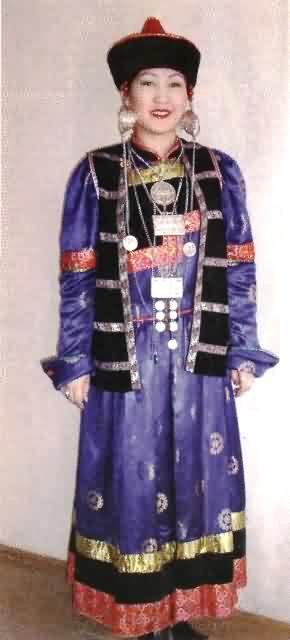 бурятская национальная одежда фото