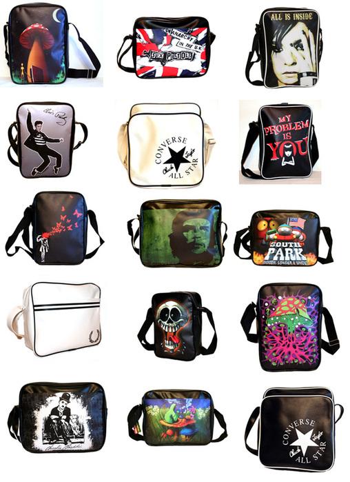 Также в новой коллекции представлены сумки с модными принтами в стилях...