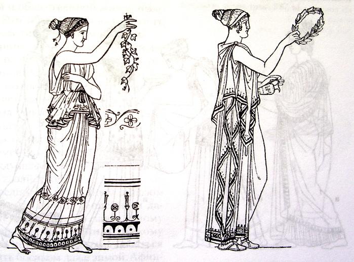 прическа греческих женщин всегда сохраняла одну особенность: оставлять...