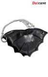 "Кожаная сумочка на цепочке LG46 -  ""Летучая мышь """
