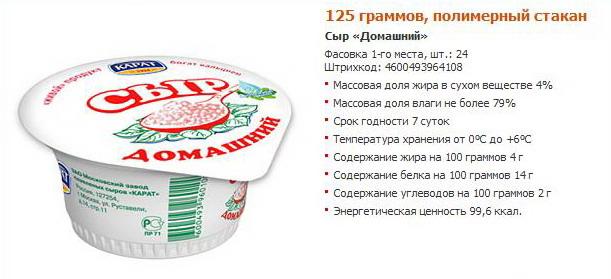 Домашний сыр при диетах