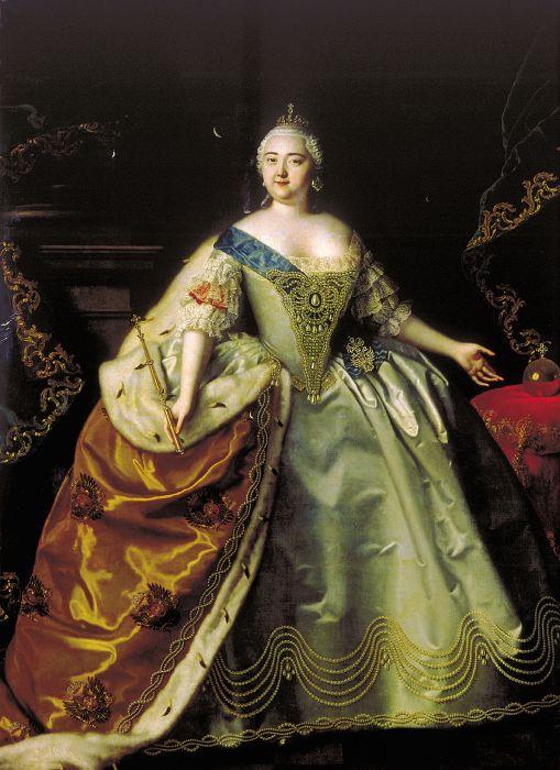【贴图】18世纪欧洲女性服饰(油画)