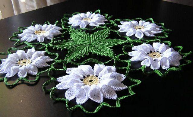 Вязание салфеток крючком схемы бесплатно. вязание крючком салфетки.