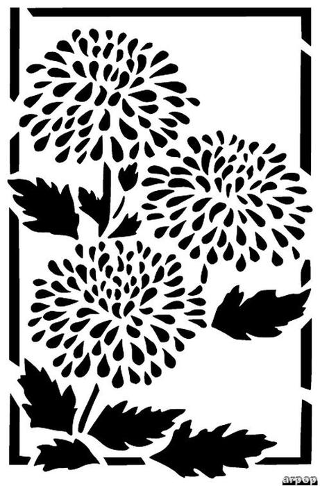 Открытка вытынанка с цветами, открытка картинки