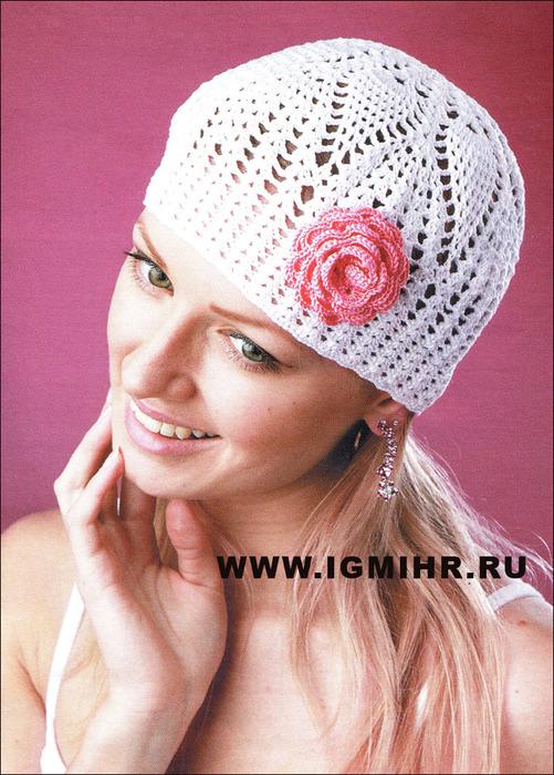 летняя вязаная шапочка самое интересное в блогах