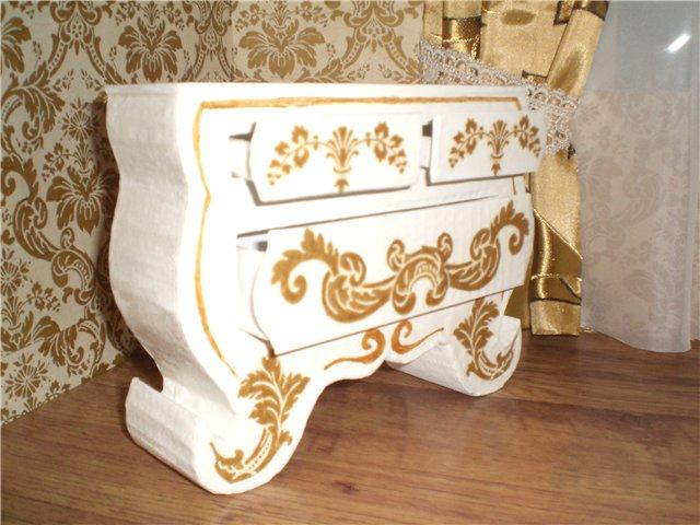 Производство мебели из картона