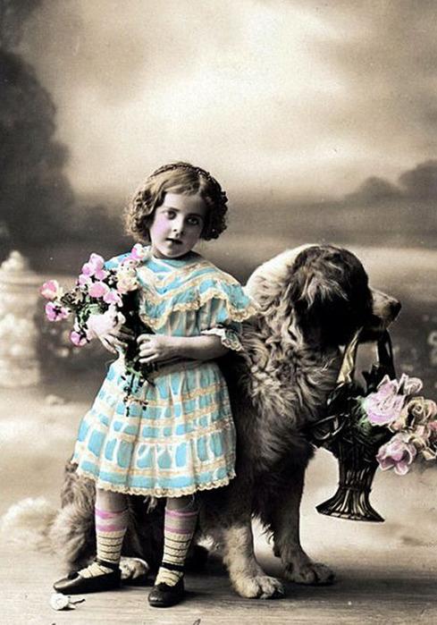 Старинные открытки с детьми фото