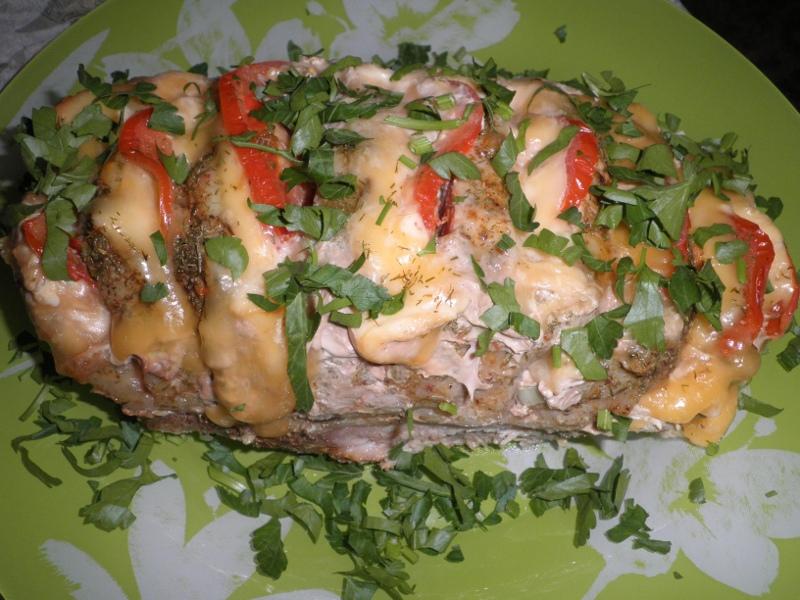 Блюда из карбоната и сыра