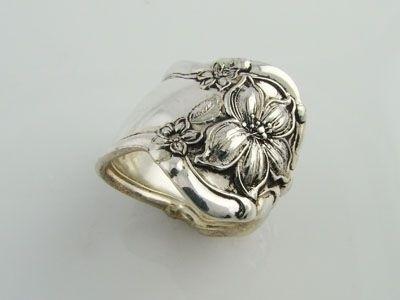 Как сделать кольцо из серебряной ложки (23) (400x300, 34Kb)