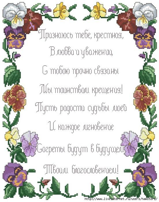 Поздравления на свадьбу крестнику от крестной в стихах