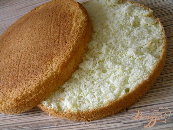 Нежный бисквит для торта