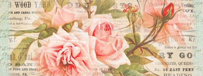 Facebook timeline ~ Pennsylvania adverts and pink roses (400x151, 28Kb)