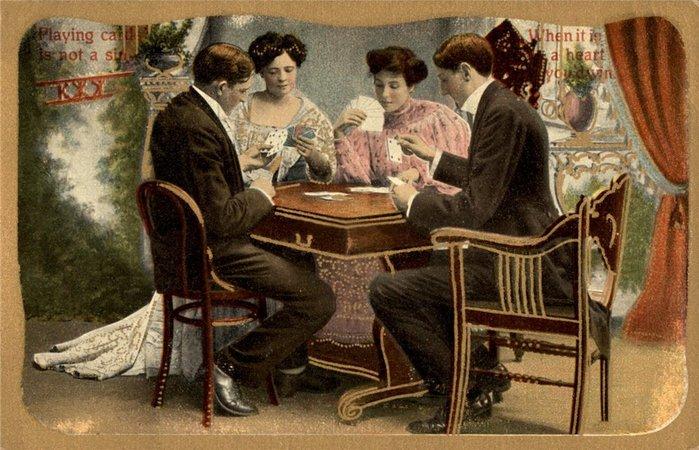 в с играть картами сундучок