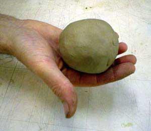 Член из глины