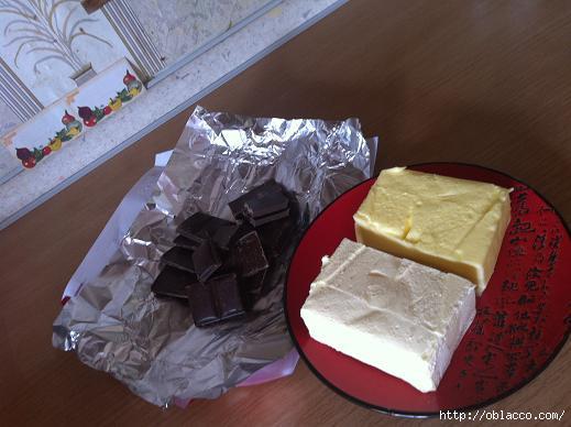 Фондан шоколадный десерт